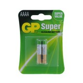 Battery Alkaline GP AAAA 25A 1.5V Pcs. 2