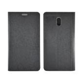 Book Case Ancus Glam for Nokia 3 TPU Black