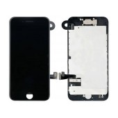 LCD & Digitizer Apple iPhone 7 with Front Camera, Receiver and Metal LCD Frame Black Type A