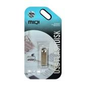 USB 2.0 MIQI Flash Drive X1 16GB Silver Metal