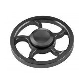 Fidget Spinner Aluminum Wind Wheel Alloy Black 3 min