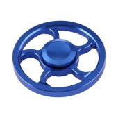 Fidget Spinner Aluminum Wind Wheel Alloy Blue 3 min