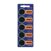 Buttoncell Lithium Electronics Sony CR2025 Pcs. 5