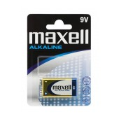 Battery Power Alkaline Maxell 6LR61 size 9V Psc. 1