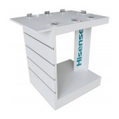Stand Table with Mobile Phone Security Alarm up to 10 Devices (98 x 95 x 70 cm)