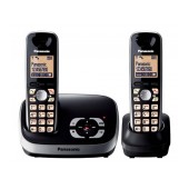 Dect/Gap Panasonic KX-TG6522 (EU) Duo Black with Anwering Machine