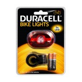 Duracell Bicycle Light 5 Led BIK-B03RDU with 2 x ΑΑΑ Batteries