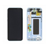 Original LCD & Digitizer Samsung SM-G955F Galaxy S8+ Blue GH97-20470D, GH97-20564D