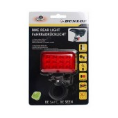 Dunlop Bicycle Light Rear Light 12 Led