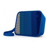 Wireless Portable Speaker Philips Pixel Pop BT110A/00 4W Sweat-Proof IPX4 Blue with Speakerphone and 3.5mm Audio-in Connector