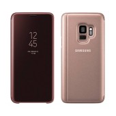 Case Faceplate Samsung Clear Standing Cover EF-ZG960CFEGWW for SM-G960 Galaxy S9 Gold