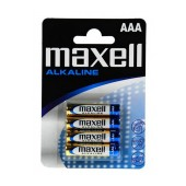 Battery Alkaline Maxell LR6 size AA 1.5 V Psc. 4
