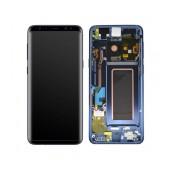 Original LCD & Digitizer Samsung SM-G960F Galaxy S9 Blue GH97-21696D