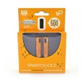 Micro USB Rechargeable Battery Smartoools 450 mAh size AAA Ni-MH 1.2V Pcs. 2