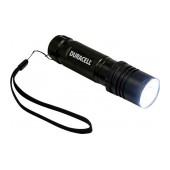 Duracell Tough Aluminium Black Flashlight 5W Led Waterproof CMP-8C / 300 Lumens/Distance 143m