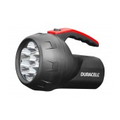 Duracell Black Flashlight 7 Led Waterproof FLN-2 / 75 Lumens/Distance 47m