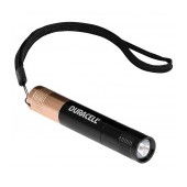 Duracell Tough Aluminium Black Flashlight 1 Led Super-Clear Waterproof KEY-3 / 20 Lumens/Distance 27m