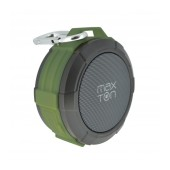 Outdoor Proof Wireless Speaker Bluetooth Maxton Telica MX51 3W IP5 Green with Speakerphone, Audio-in, MicroSD