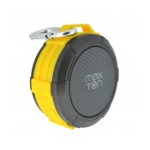 Outdoor Proof Wireless Speaker Bluetooth Maxton Telica MX51 3W IP5 Yellow with Speakerphone, Audio-in, MicroSD