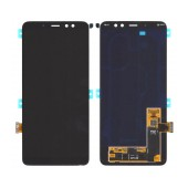 Original LCD & Digitizer SM-A730 Galaxy A8 plus (2018) with Tape Black GH97-21534A