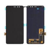 Original LCD & Digitizer SM-A730 Galaxy A8 plus (2018) with Tape Black GH97-21534A