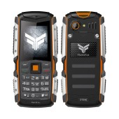FlameFox Stone (Dual Sim) IP67 with Bluetooth, FM Radio, Led Torch