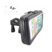 Bicycle Mount with Case Ancus Universal Large for Smartphone up to 5.5'' Inches