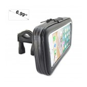 Bicycle Mount with Case Ancus Universal XL for Smartphone up to 6.99'' Inches