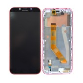 Original LCD & Digitizer Hisense F17 Pro Red with Frame