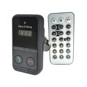 Bluetooth FM Transmitter SO-301E with Remote Control, Speakerphone and USB Port 5V/1A Black