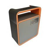 Wireless Portable Speaker Musky DY31 8W Grey with FM Radio, Speakerphone, Audio-In and USB Port