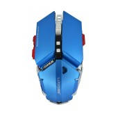 Wired Mechanical Gaming Mouse Luom G50 with 10 Buttons and 4000 DPI Blue