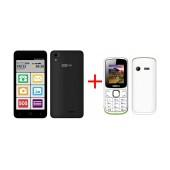 Maxcom MS514 FS (Dual Sim) LTE Black + Maxcom MM129 (Dual Sim)
