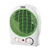 Fan Heater N'OVEEN FH-11 2000W. Option for Cold Air Flow. Green