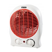 Fan Heater N'OVEEN FH-12 2000W. Option for Cold Air Flow. Red