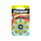 Hearing Aid Batteries Energizer Zinc Air 10 1.4V Pcs. 8