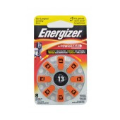 Hearing Aid Batteries Energizer Zinc Air 13 1.4V Pcs. 8