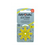Hearing Aid Batteries Rayovac 10 Extra Advanced 1.45V Pcs. 8