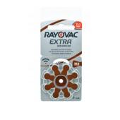 Hearing Aid Batteries Rayovac 312 Extra Advanced 1.45V Pcs. 8