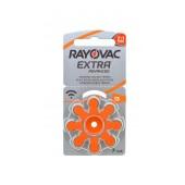 Hearing Aid Batteries Rayovac 13 Extra Advanced 1.45V Pcs. 8