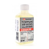 Liquid Flux TermoPasty Topnik RF 800 with Alcohol 50ml with Brush Suitable for Electronic Circuits