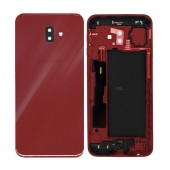 Battery Cover Samsung SM-610F Galaxy J6+ (2018) Red Original GH82-17872B