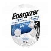 Buttoncell Ultimate Lithium Electronics Energizer CR2032 Pcs. 2