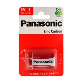 Battery Zinc Carbon Panasonic 6F22RZ 9V Pcs, 1