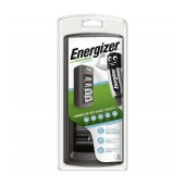 Battery Charger Energizer ACCU Recharge Universal for up to 8 AA/AAA/C/D/9V with Charge Status Indicator