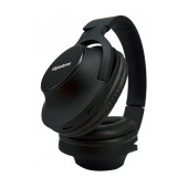 Bluetooth Headphone Stereo Gigastone Foldable H1 with Bluetooth 4.2 Multi Pairing, Charging Cable Black