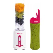Blender N'OVEEN Sport Mix & Fit SB220 with Two 600 ml Bottles 300W Amarant