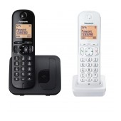Dect/Gap Panasonic KX-TGC212JT1 Black - White with Speakerphone, Call Block and Eco Function