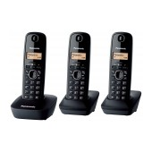 Dect/Gap Panasonic KX-TG1613JTH Black