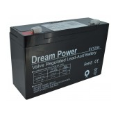 Battery for UPS Dream Power (6V 12 Ah) 1,7 kg 151mm x 50mm x 93mm